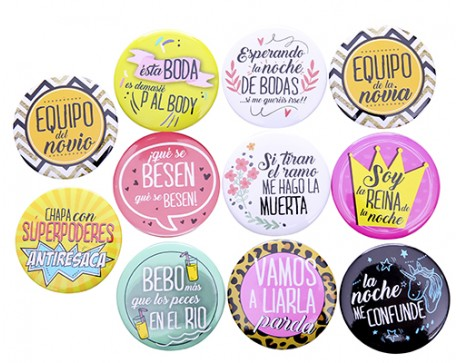 CHAPAS FRASES WEDDING